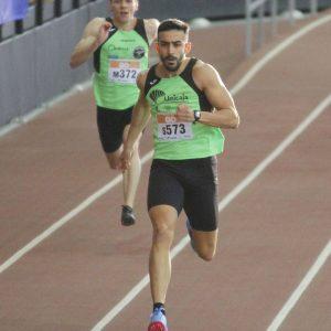 Borja del Castillo. Atletismo